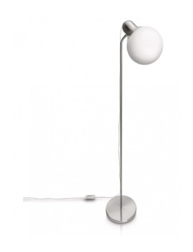 Caress Floor Lamp Nickel 1X20W 230V