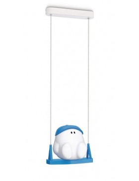 Buddy Swing Pendant Blue 1X15W 230V