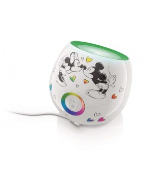 Dıs Mini Mickey & Minnie Mouse White